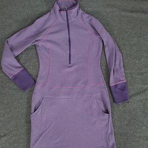 Columbia Omniwick Zip Knit Sports Dress - S